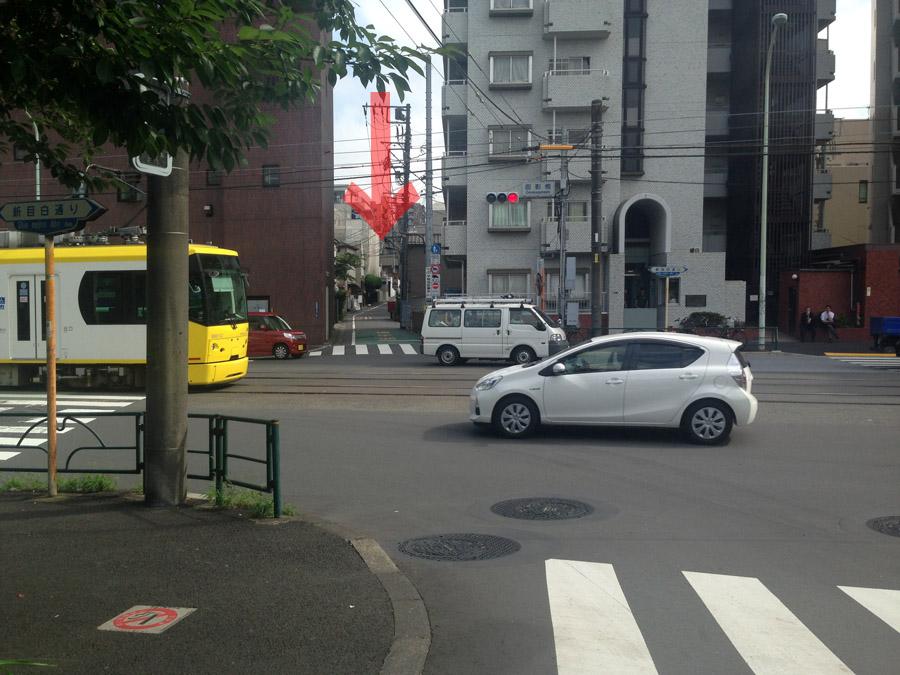 面影橋から古鎌倉街道