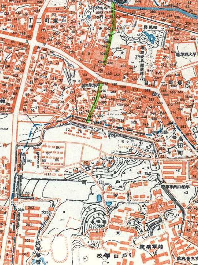 昭和3-11年(1928-36年)1万分の1地形図