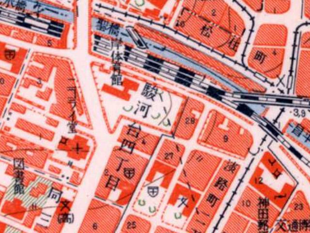 古地図:昭和3-11年(1928-36年)1万分の1地形図