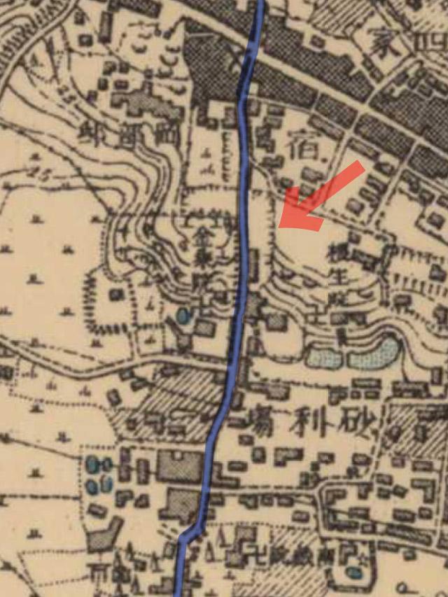 明治41-42年(1908-09年)1万分の1測図
