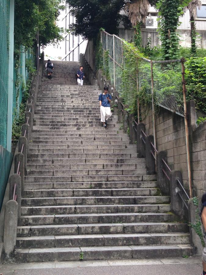 千代田区の男坂