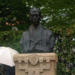 ヴェルニー公園、小栗上野介の胸像