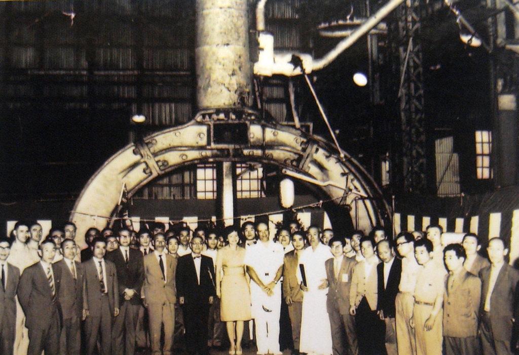 昭和40年(1965年)横須賀製鉄所100周年時の写真