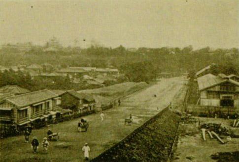 明治39年(1906年)、西富坂。