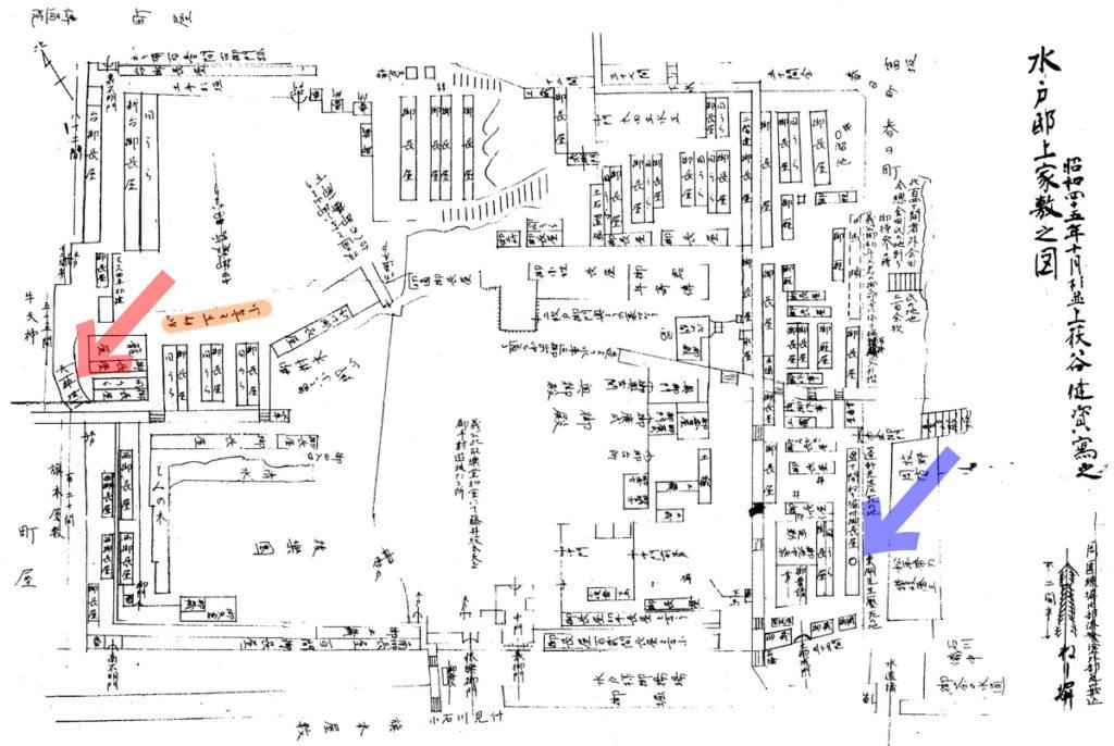 水戸邸上屋敷之図