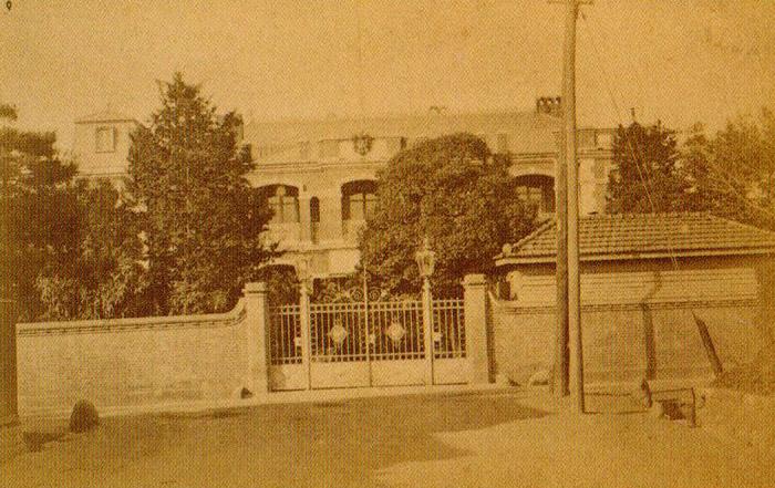 古写真:ドイツ公使館