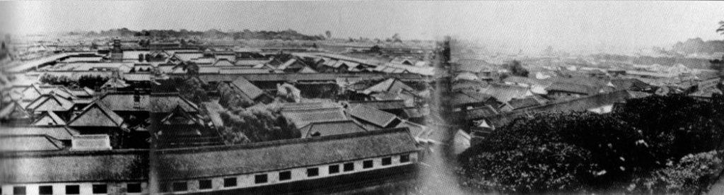 古写真:愛宕山からのパノラマ東側