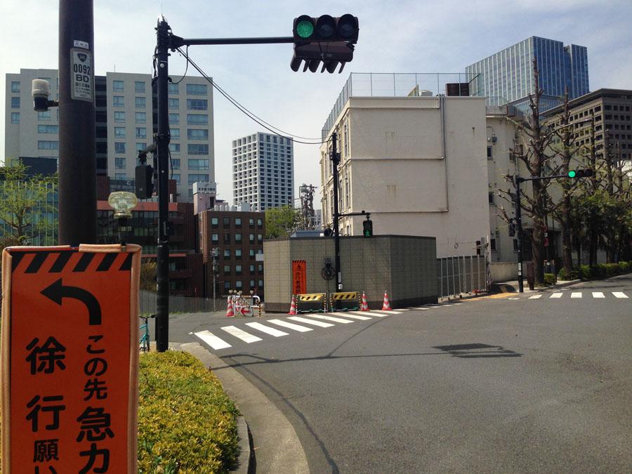 途中から旧道(左側)に入れます