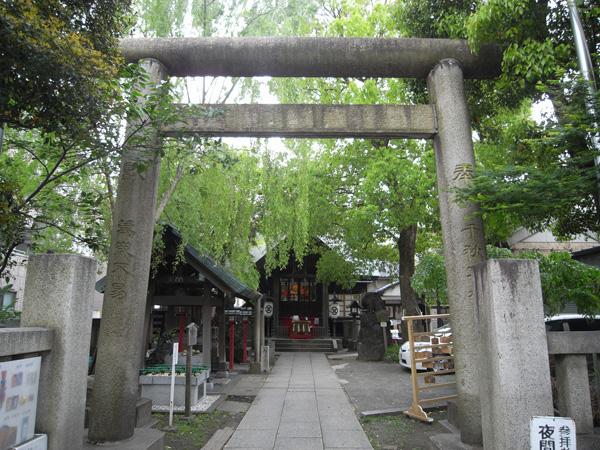 三島神社正面鳥居