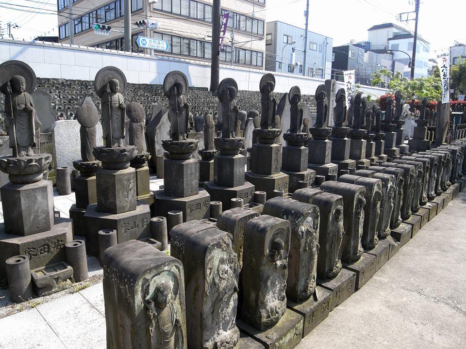 浄名院の石地蔵