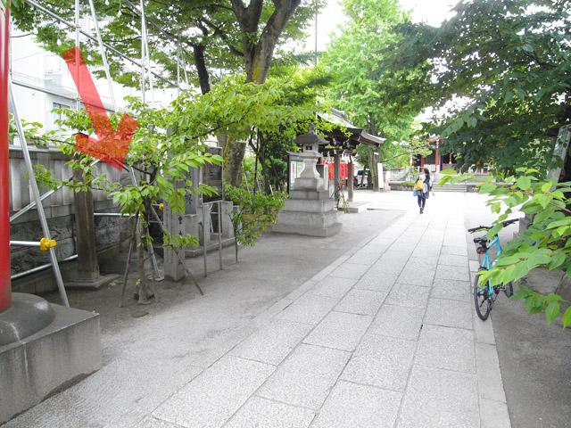 洲崎神社境内