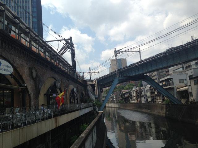 昌平橋より中央線。