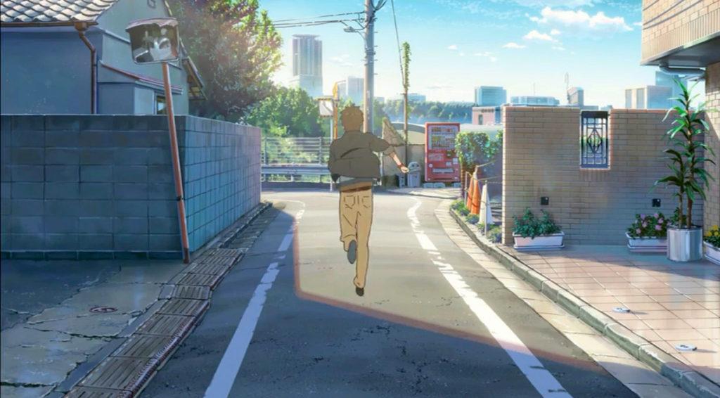 気の名は。瀧くんち近所。新宿区若葉。