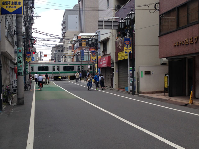 板橋埼京線踏切