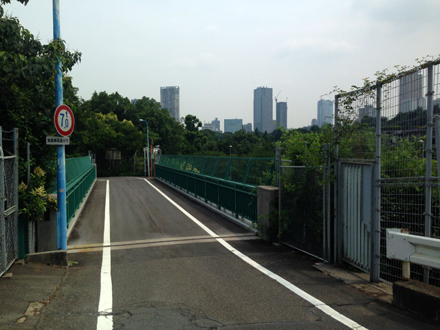 君の名は。中央線の並走が観れる陸橋