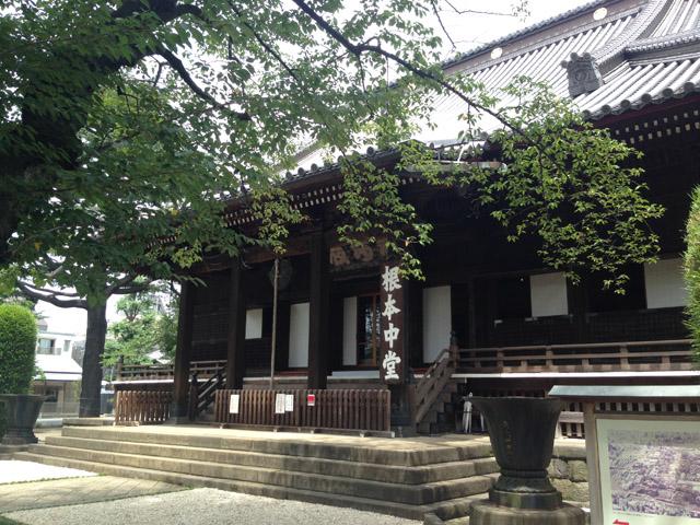 再建後の寛永寺根本中堂