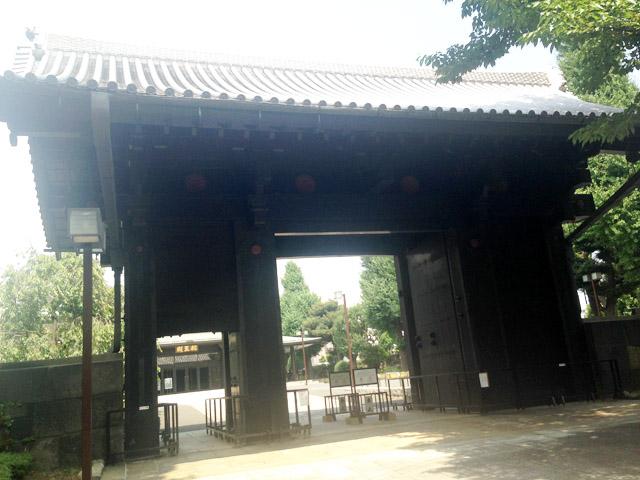 旧寛永寺本坊山門