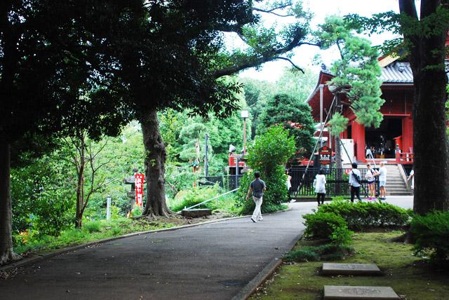 清水観音堂、茶屋のあった辺り。