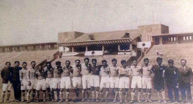 昭和5年(1930 年)の国立競技場