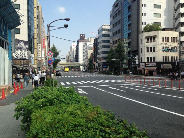 茅町は今の浅草橋駅前周辺。