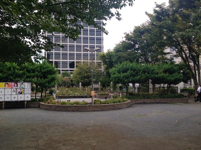 浅野内匠頭邸があった赤坂氷川公園