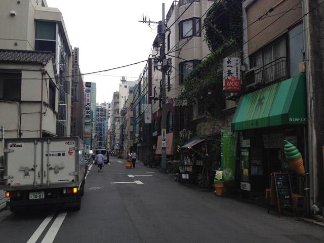 神田三河町(内神田一丁目付近)