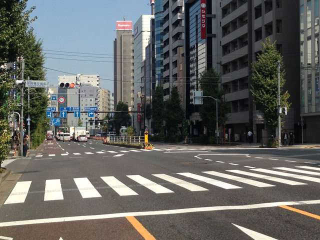須賀橋交差点
