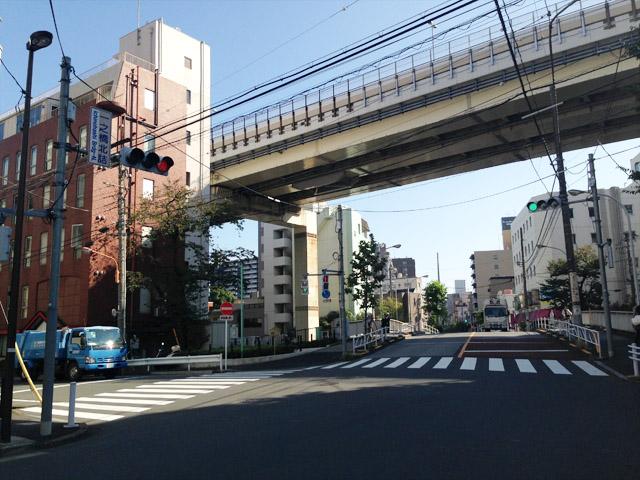 今の一之橋。