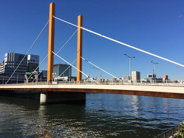 今の新大橋。