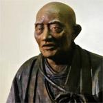 吉田忠左衛門木像