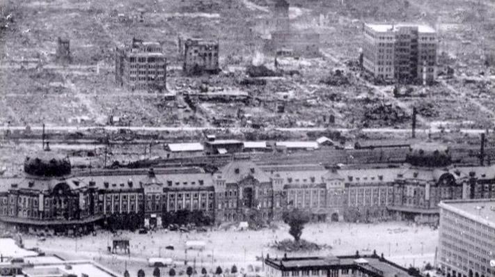 関東大震災時の東京駅