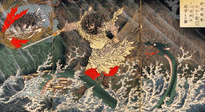 須佐之男命と八岐大蛇
