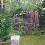 文京区大円寺にある高島秋帆墓。