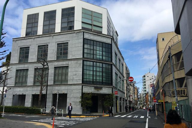 もと上野先生の家辺り。