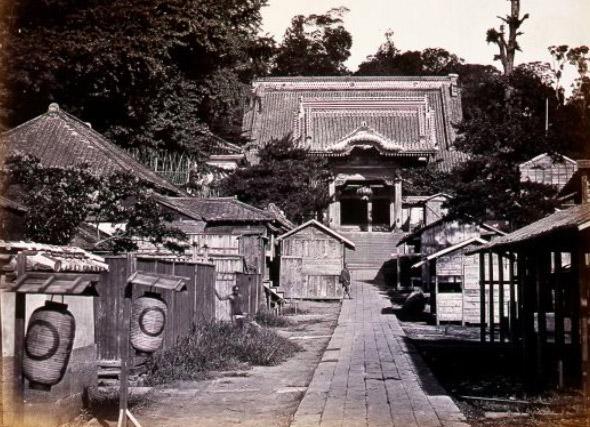 古写真:麻布善福寺