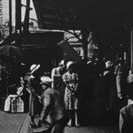 戦前のハチ公広場。
