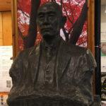 東大弥生キャンパスの上野栄三郎博士胸像