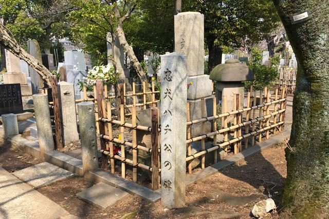 青山霊園の上野栄三郎博士の墓。