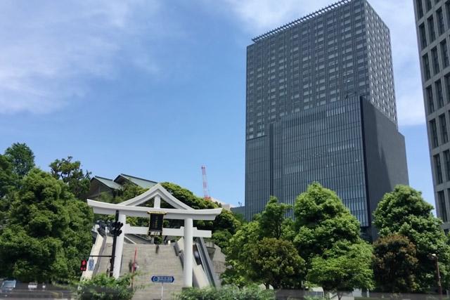 山王日枝神社とザ・キャピトルホテル東急