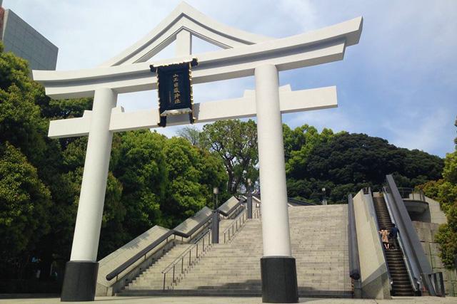 山王日枝神社エスカレーター