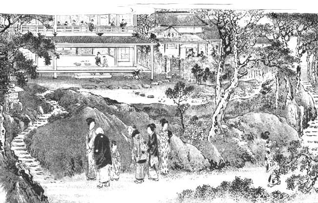 明治期の星ヶ丘茶寮