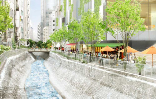 渋谷川再開発
