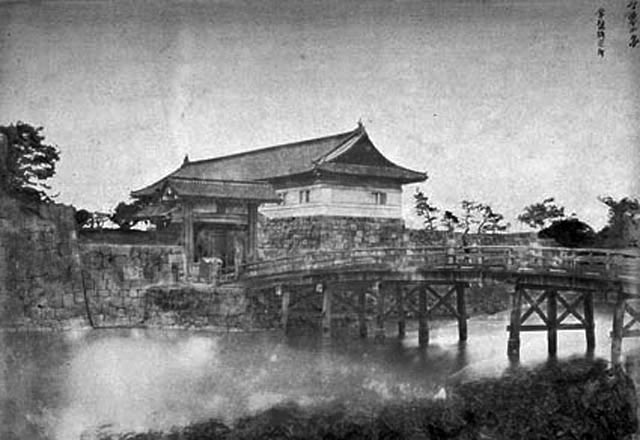 維新直後の古写真:常盤橋