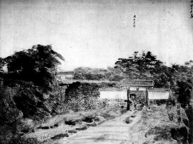 維新直後の古写真:清水門。