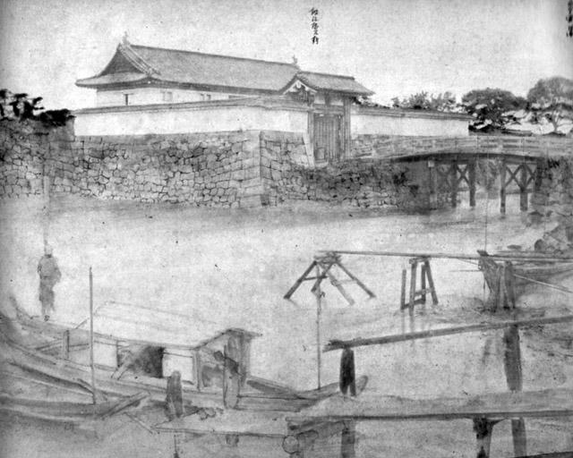維新直後の古写真:鍛冶橋。