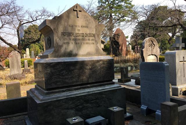 エドアルド・キヨッソーネ墓