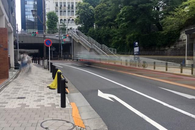 乃木坂陸橋、乃木坂トンネル