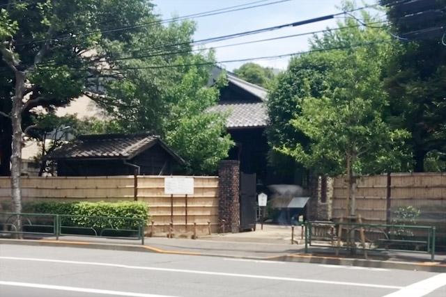 旧乃木邸表門