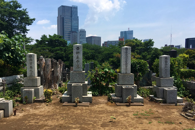 西郷家墓所