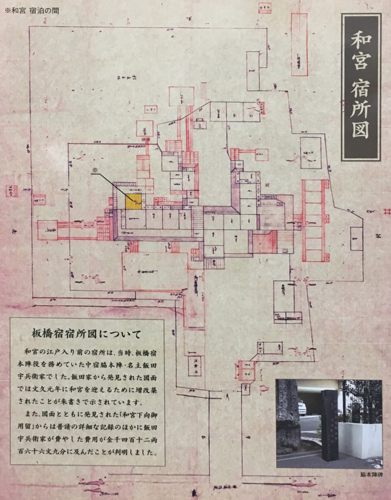 和宮宿所図